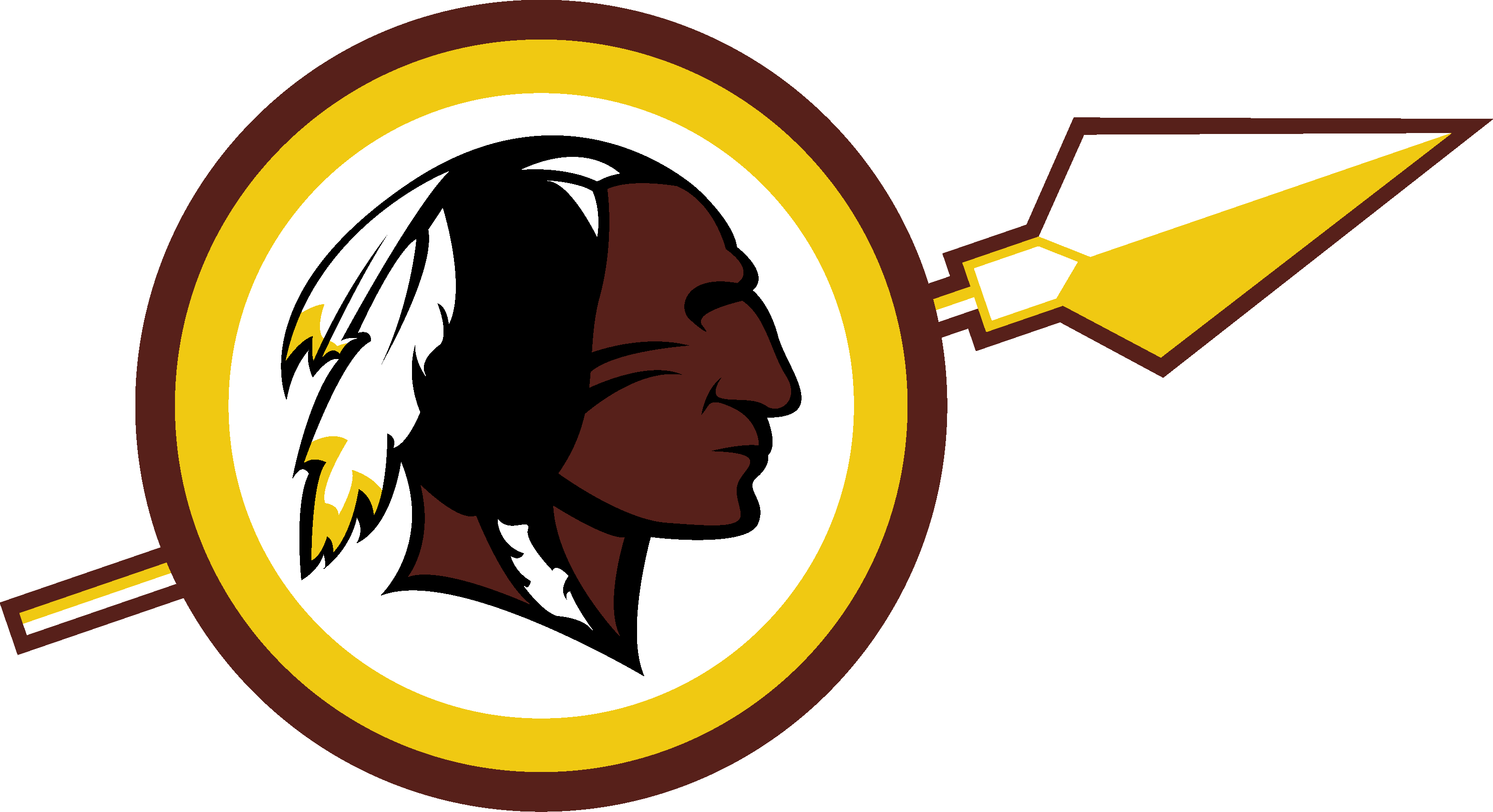 New Washington Redskins logo.