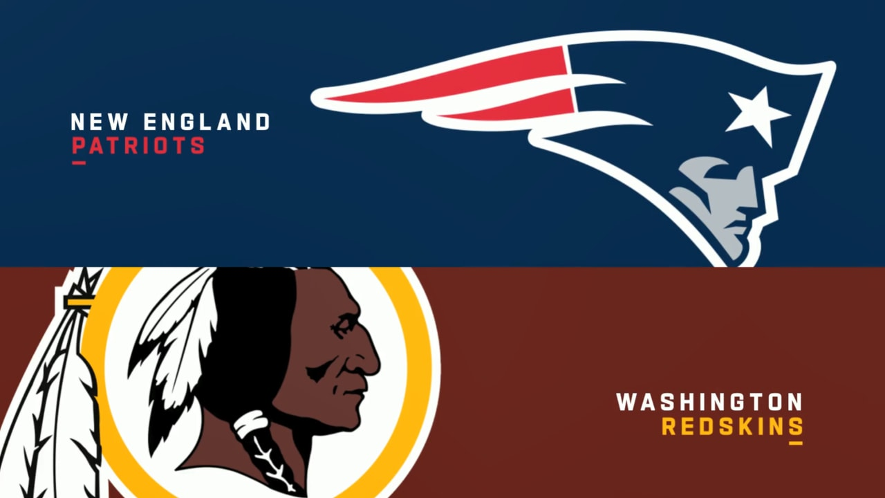Patriots vs. Redskins highlights.