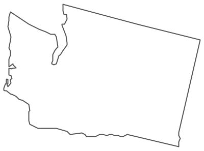 Washington clipart map.