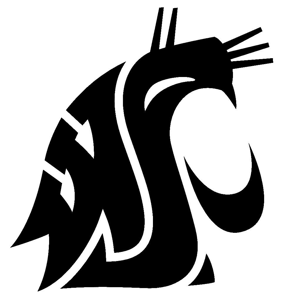 Washington State Cougars Clipart.