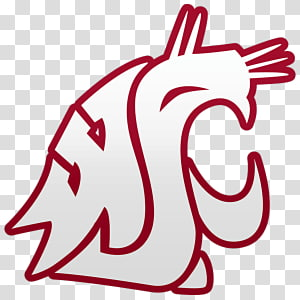 Washington State Cougars football PNG clipart images free.