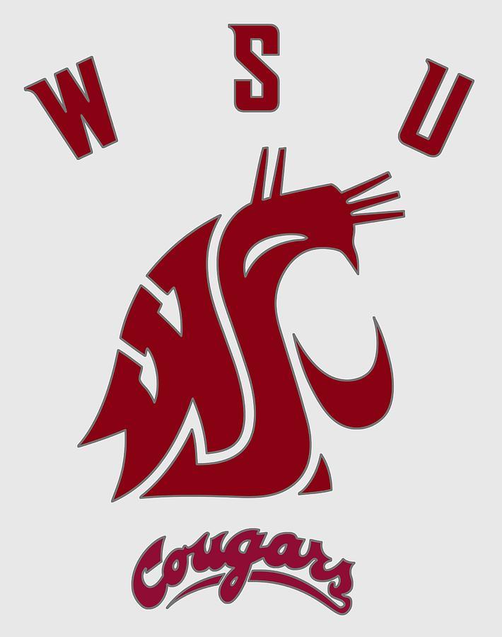 W S U Cougar Logo.