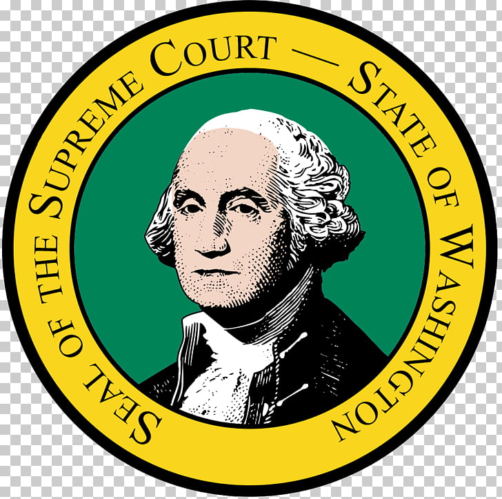 George Washington U.S. state Flag of Washington Oregon Seal.