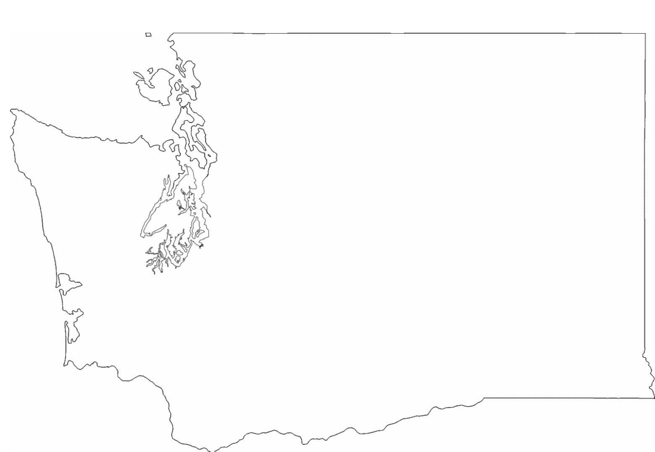 Washington State Outline Png (102+ images in Collection) Page 1.