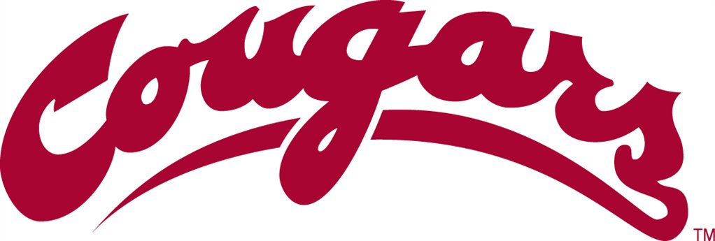 Washington state cougars Logos.