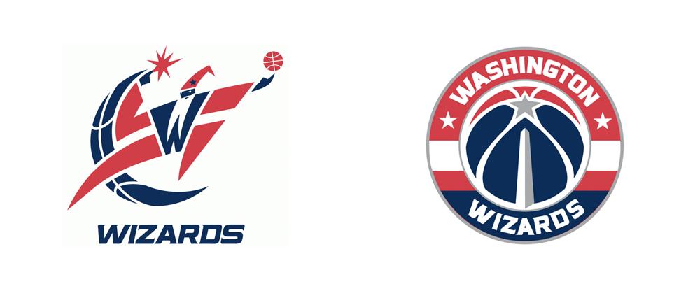 Brand New: New Logo for Washington Wizards.