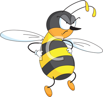 Bee And Wasp Clipart.