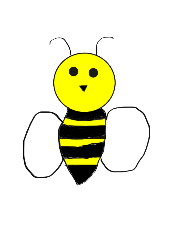 Bee Bumble Bee Clipart.