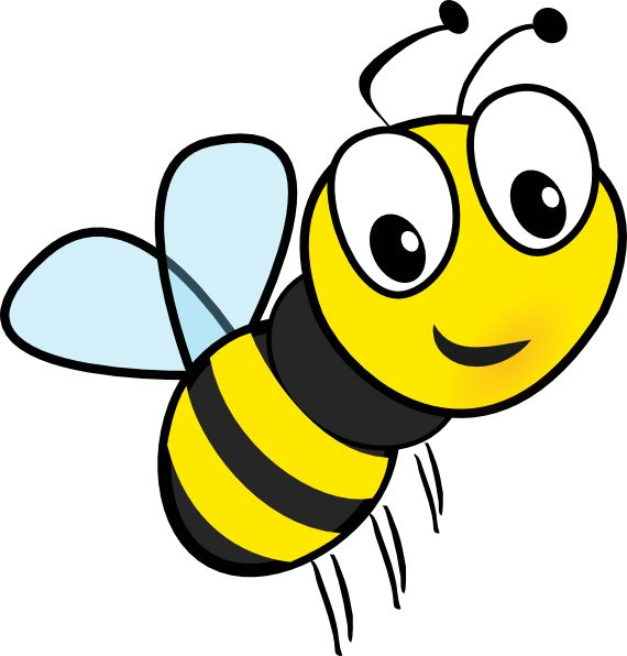 Wasp bee clipart #18