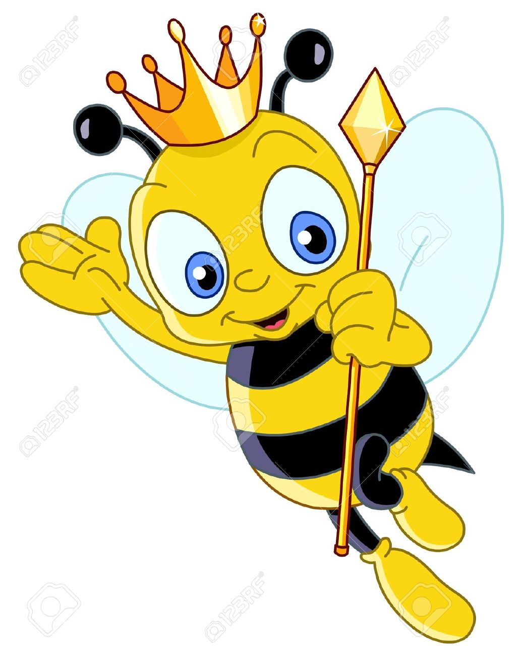 Queen Bee Royalty Free Cliparts, Vectors, And Stock Illustration.