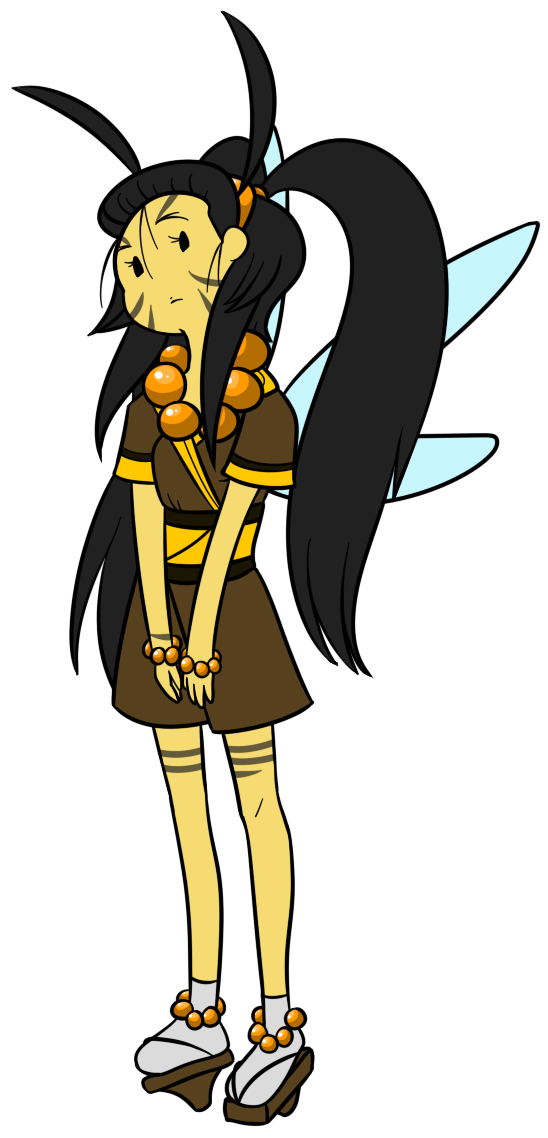 New OC: Kaede the Wasp by TheCupcake.