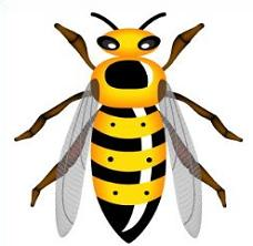 Free Wasp Clipart.
