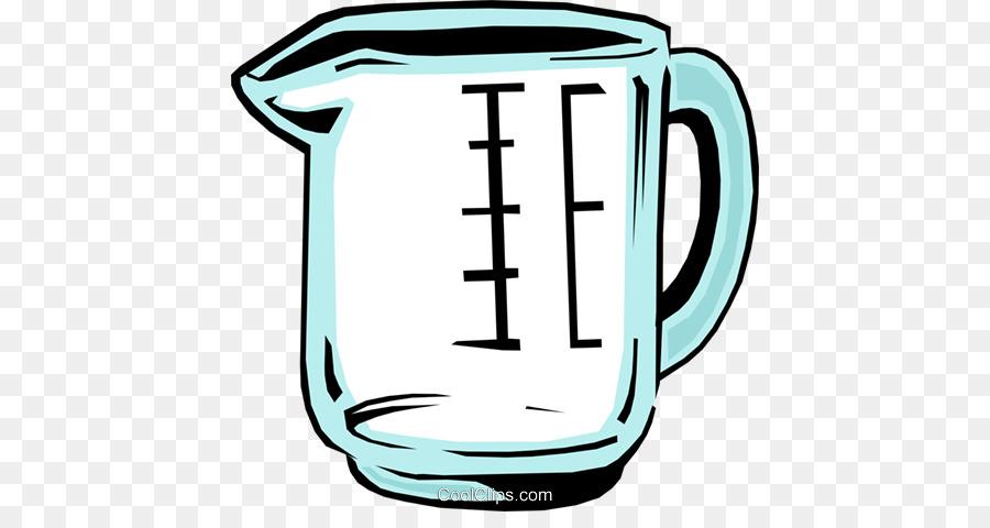messbecher mit wasser clipart Mug Measuring cup Clip art.