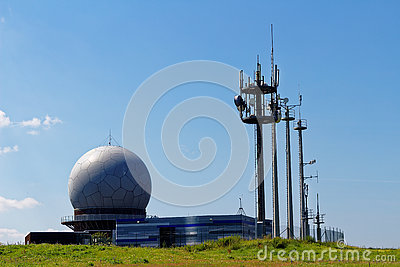 Radar Station Dome Stock Photos, Images, & Pictures.
