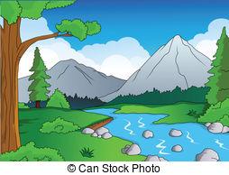 Wasserlauf Vektor Clip Art EPS Bilder. 388 Wasserlauf Clipart.