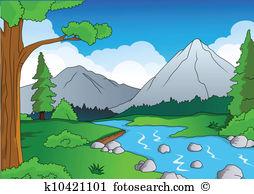 Wasserlauf Clip Art EPS Bilder. 367 wasserlauf Clip Art Vektor.