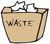 Waste Basket Clip Art.
