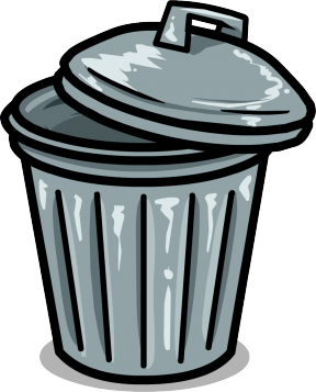 Garbage Can Clip Art Garbage Bin Cl, Trash Free Clipart.