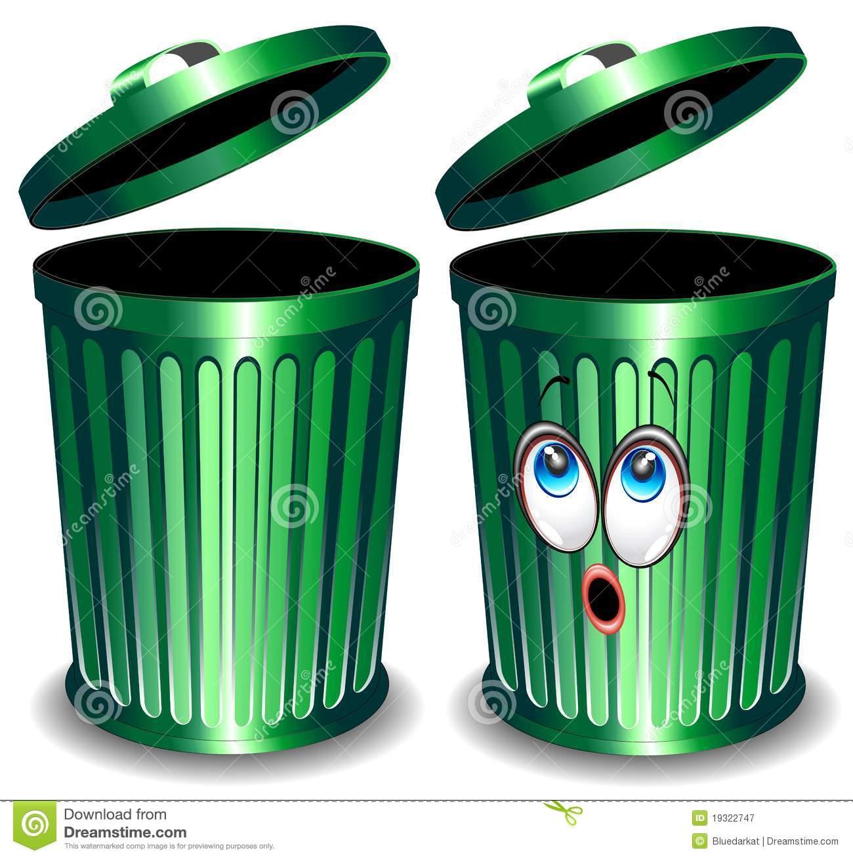 Trash Bin Cartoon Stock Photos, Images, & Pictures.