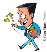 Waste money Stock Illustrations. 870 Waste money clip art images.