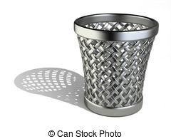Wastepaper basket Stock Illustrations. 570 Wastepaper basket clip.