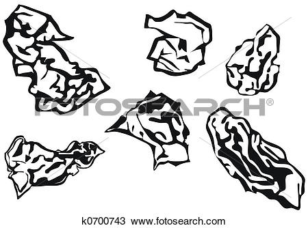 Drawing of Waste paper balls k0700743.
