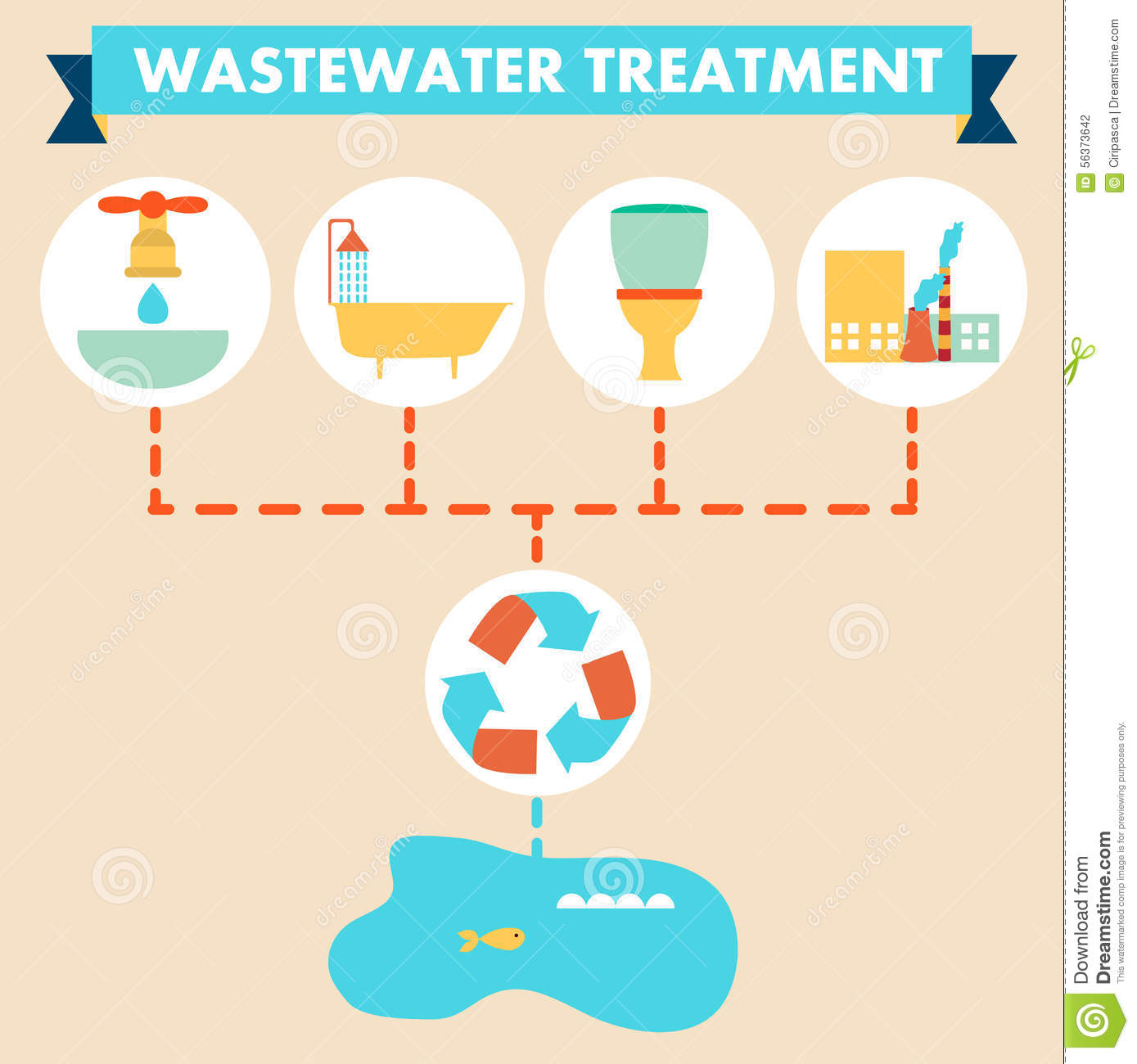Wastewater Stock Illustrations.