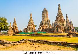 Pictures of ASIA THAILAND AYUTHAYA WAT CHAI WATTHANARAM.