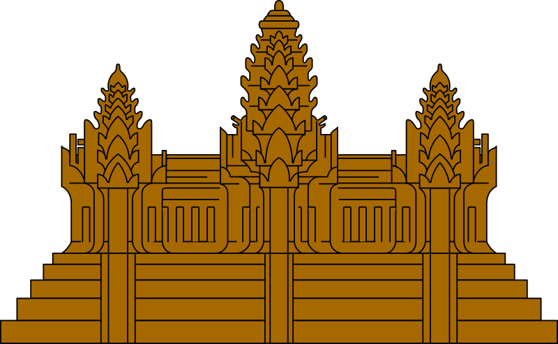 Angkor Wat Clip Art.