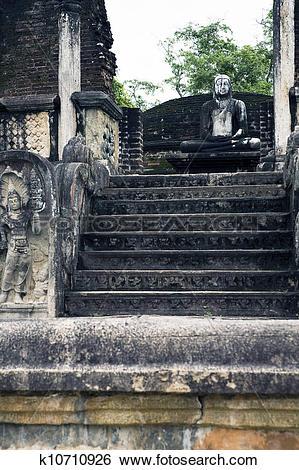 Stock Images of Polonnaruwa, Sri Lanka k10710926.