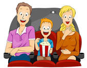 Watching movie Illustrations and Clipart. 5,092 watching movie.
