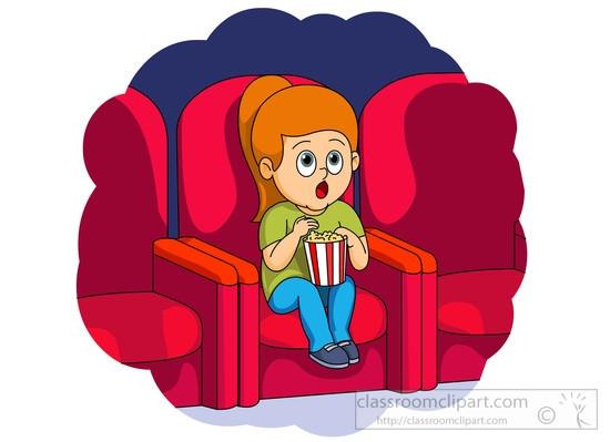 Streaming Movie Clip Art.