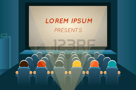 5,291 Watching Movie Stock Illustrations, Cliparts And Royalty.