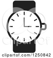 Black and White Wrist Watch Posters, Art Prints by Lal Perera.