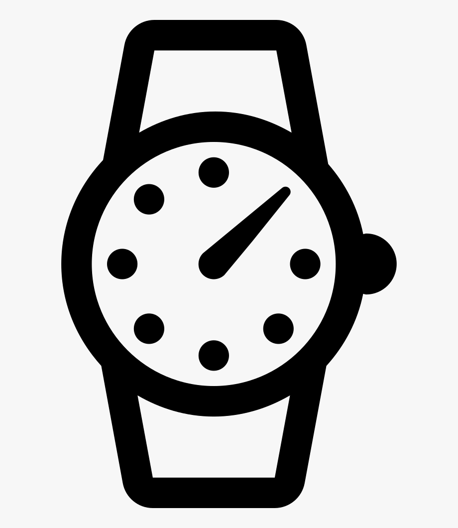 Clock Time Wrist Watch Watch Svg Png Icon Free Download.
