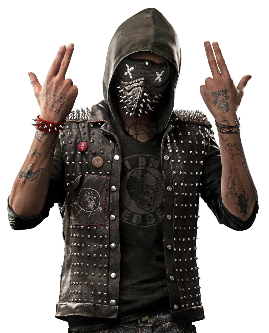 Watch Dogs 2 Clipart.