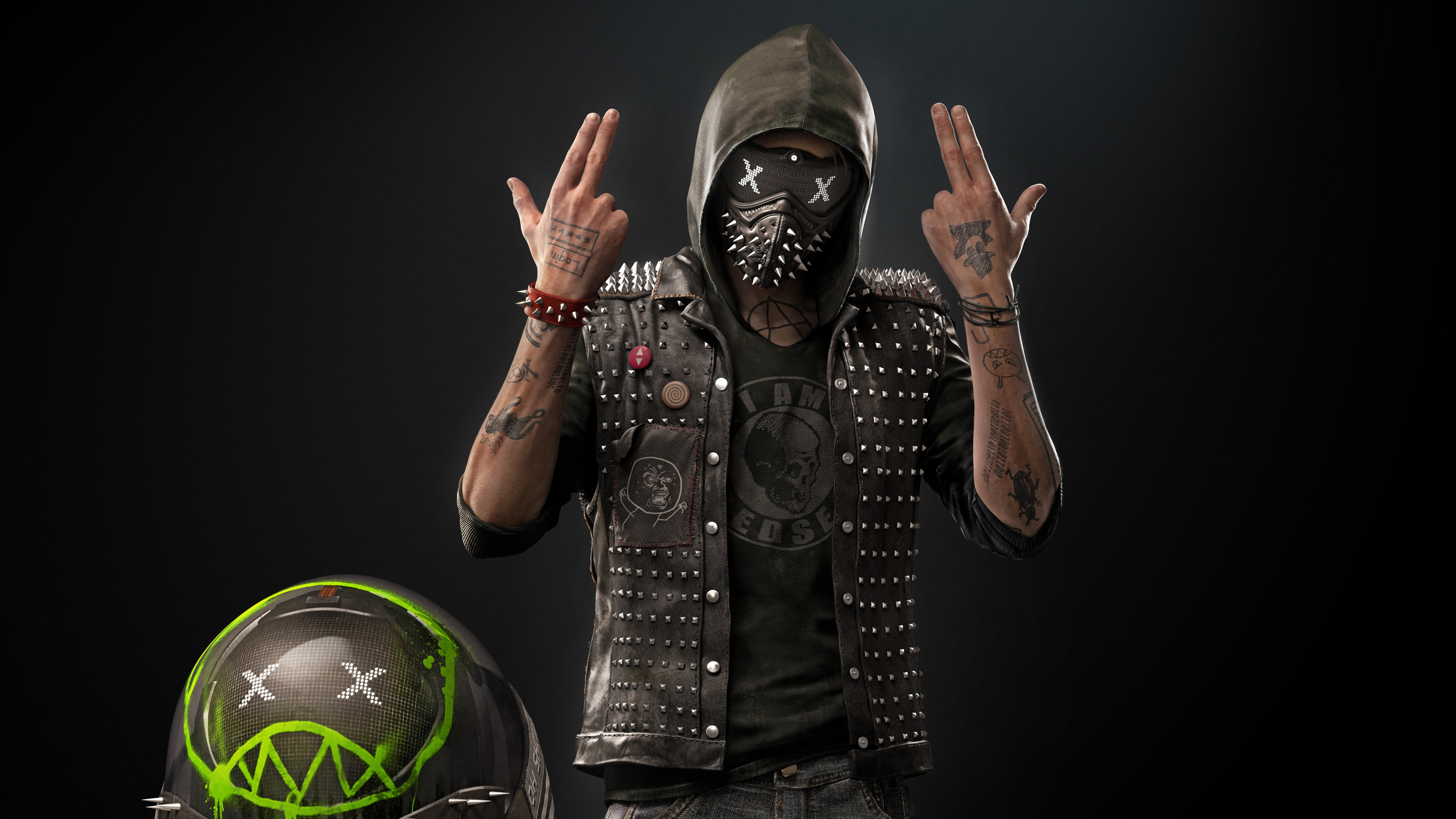 Watch Dogs Live Clipart.