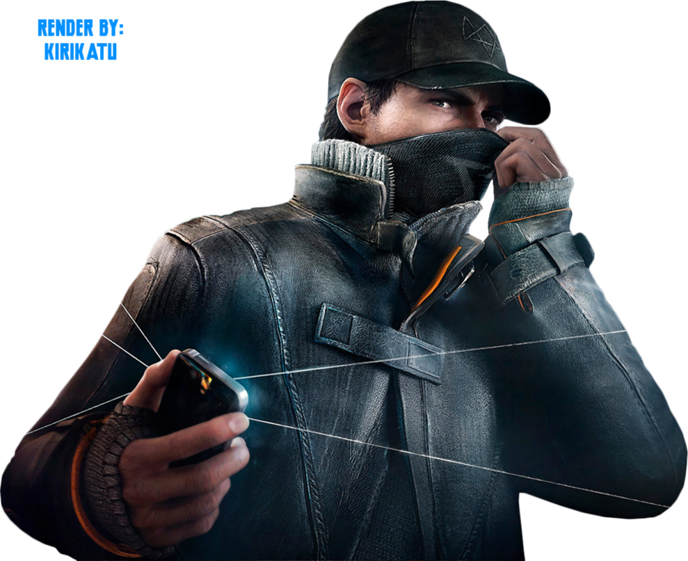 Watch Dogs PNG Transparent Images.