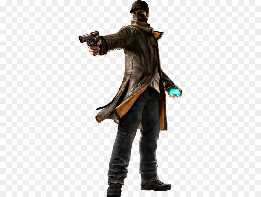 Watch Dogs Costume png download.