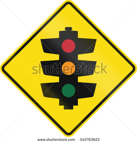 Clipart Road Signs Watch For Signals Ahead.