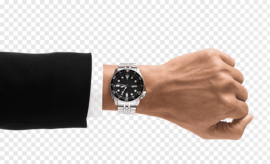 Person wearing round black analog watch, Wrist Apple Watch.