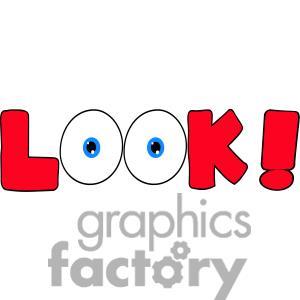 free clip art eyes watching #10