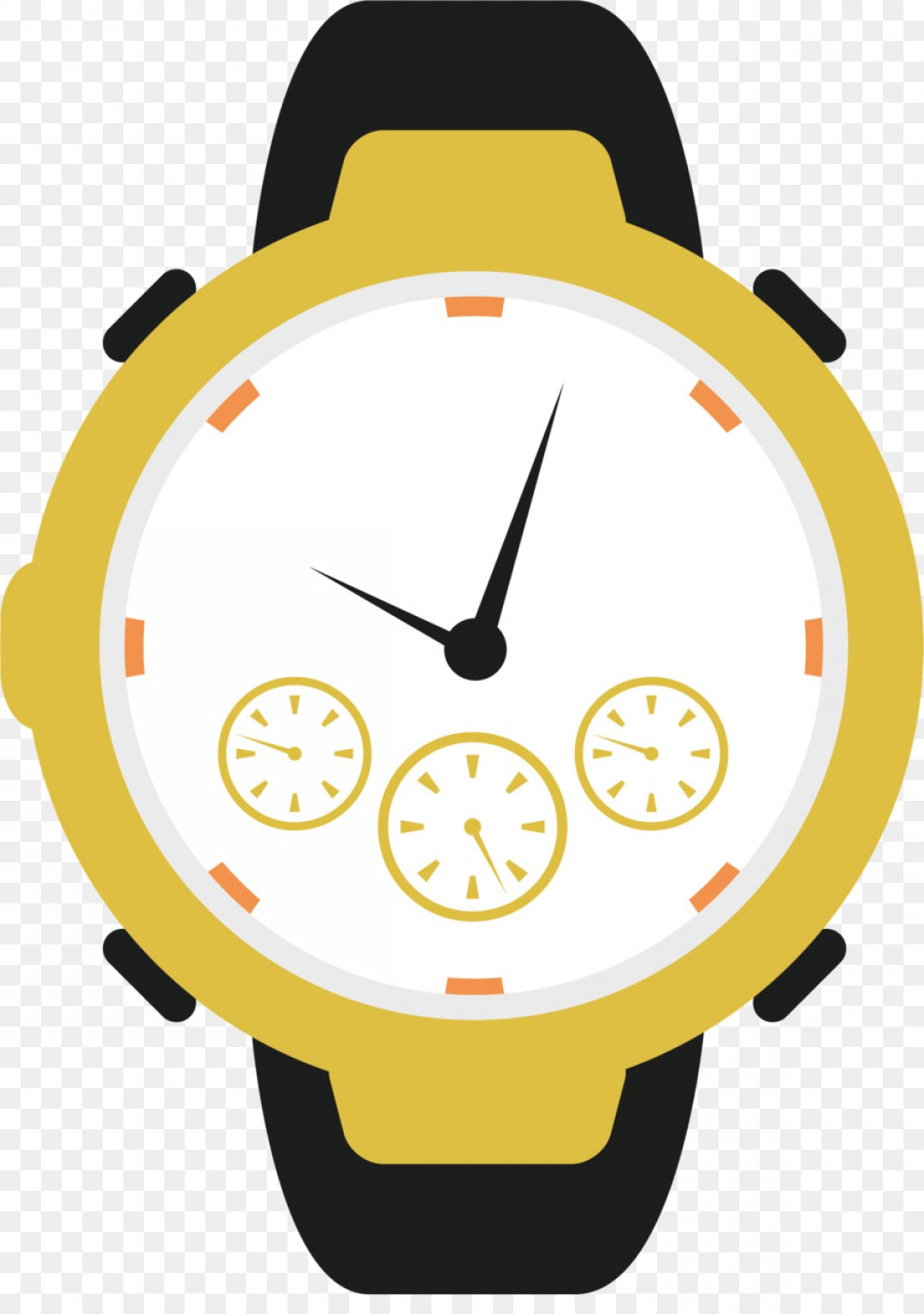 Png Watch Drawing Dessin Animxe Clip Art Watch Vector.