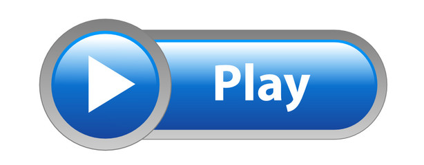 VIDEO Web Button (play watch view media player icon live key.