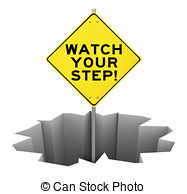 watch your step clipart #6