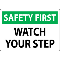 watch your step clipart #7
