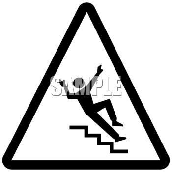 Watch Your Step Sign.