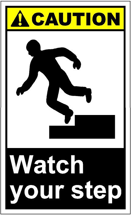 Watch Your Step Clipart#2164725.
