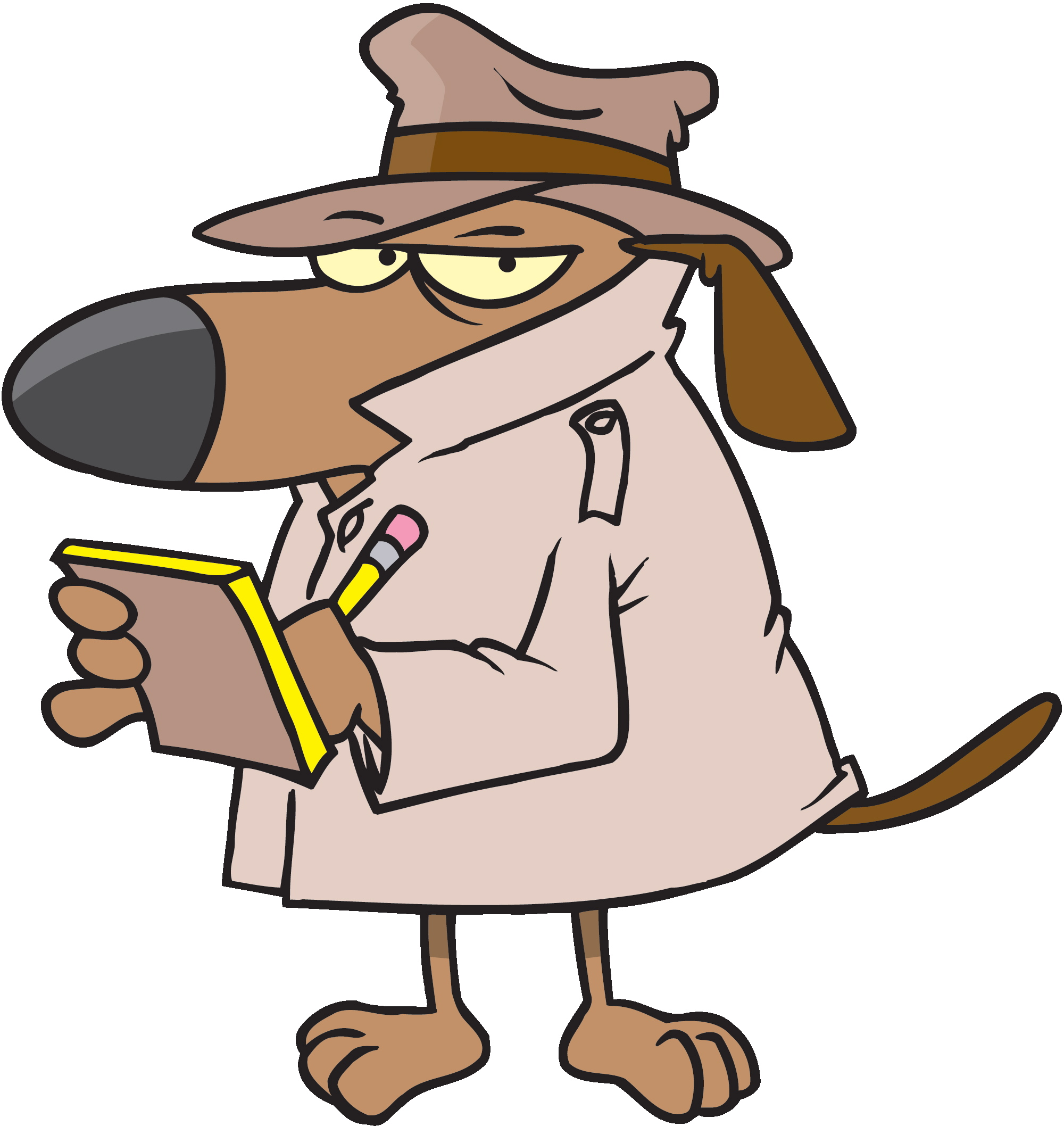 Watch dog clipart.