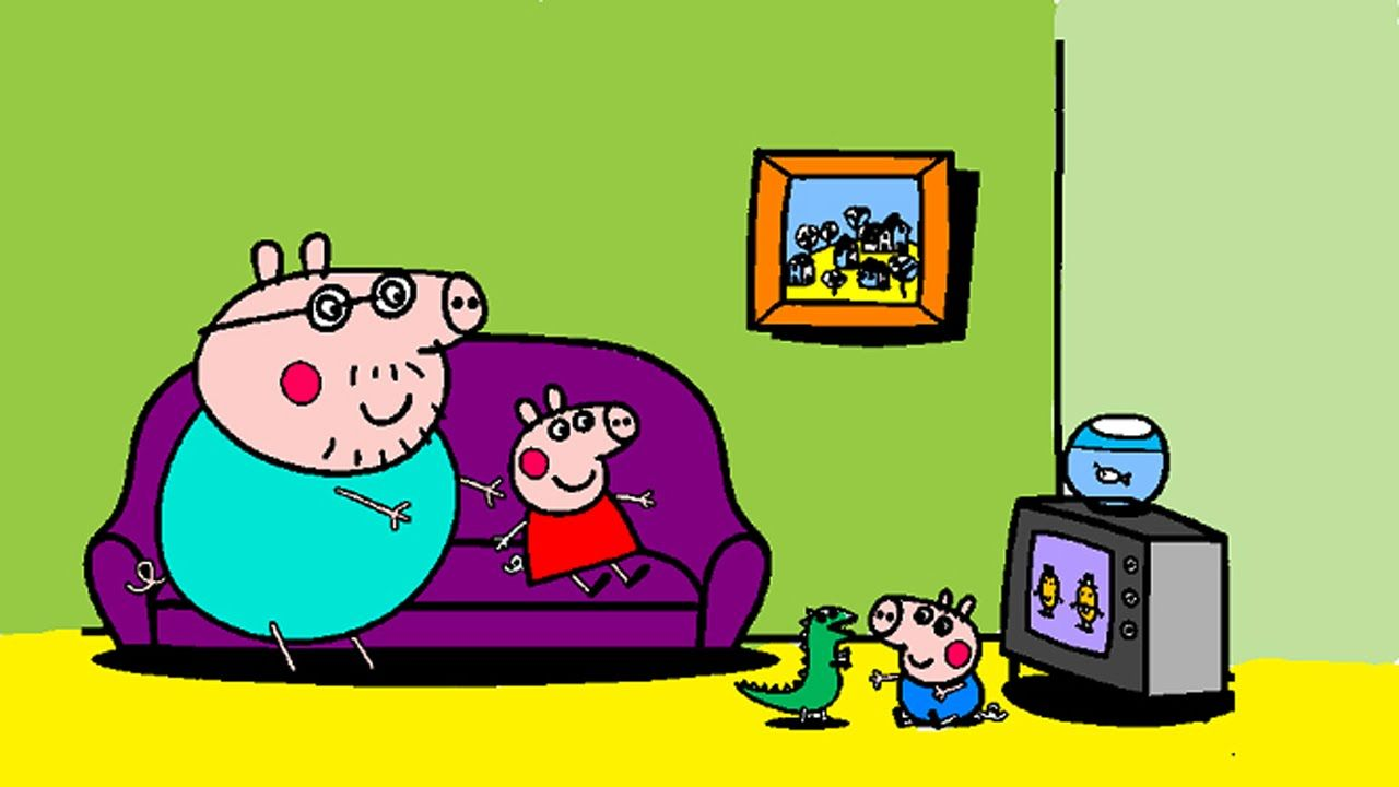Peppa Pig Coloring Pages for Kids ▻ Peppa Pig Coloring.